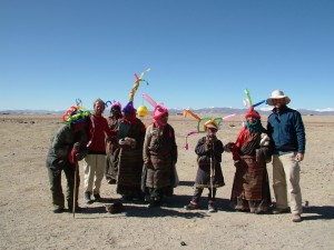 group tibet baloons